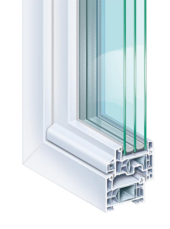 PVC ramen - PVC Vensters - kunststof ramen - kunststof vensters - schuiframen - Ramen & deuren